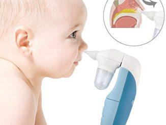 Elektrischer Nasensauger Nasensekretsauger Baby Aspirator Nasen Reiniger #3719