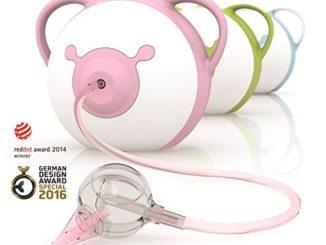 Nosiboo, der kinderfreundliche Nasensauger (elektrisch, pink) - Ein perfektes Babyparty-Geschenk!